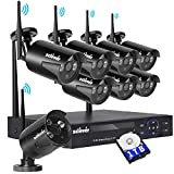 Cheap [1TB HDD Pre-Installed] Zclever 8 Channel 720p HD Wireless Security Camera System with 8 HD Outdoor Wireless IP Cameras with Night Vision