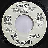 Procol Harum 45 RPM Grand Hotel / Grand Hotel