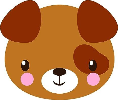 Amazon.com: Pegatina de vinilo con diseño de animales Kawaii ...