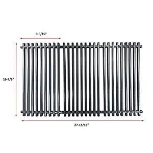 Uniflasy Grill Cooking Grid Grate Replacement Parts for Charbroil 463420508, 463420509, 463420511, 463436213, 463436214, 463436215, 463440109, 463441312, 463441514, 463461613 & Thermos 461442114