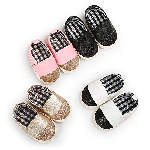 Sabe Unisex Baby Boys Girls Moccasins Soft Sole Tassels Prewalker Anti-Slip Loafer Shoes