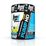 BPI Sports Pump HD Pre-Training Power and Energy Fuel Powder, Blueberry Lemon Freeze, 8.8 Ounce