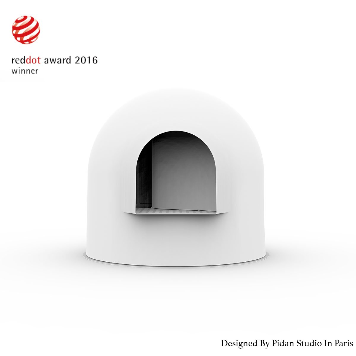 pidan studio - Igloo Cat Litter Box