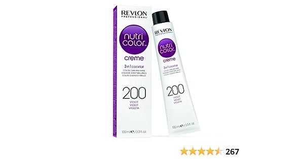 Revlon Nutri Color Creme Tinte Tono 200 Violeta - 100 ml