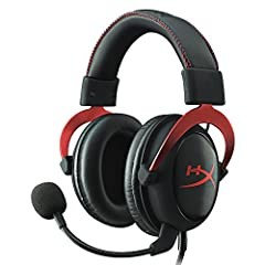 HyperX Cloud II features a newly designed USB sound card audio control box that amplifies audio and voice for an optimal Hi-Fi gaming experience, so you can hear what you've been missing. Open up a world of detail other gamers will nev...