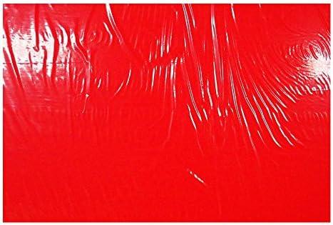 アクリサンデー PPクラフトシート(発泡タイプ) 450mm×600mm 板厚 3mm 赤 HP3 アカ M 3
