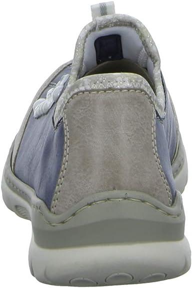 Rieker L32T3 42 Chaussures de Ville à Lacets pour Femme