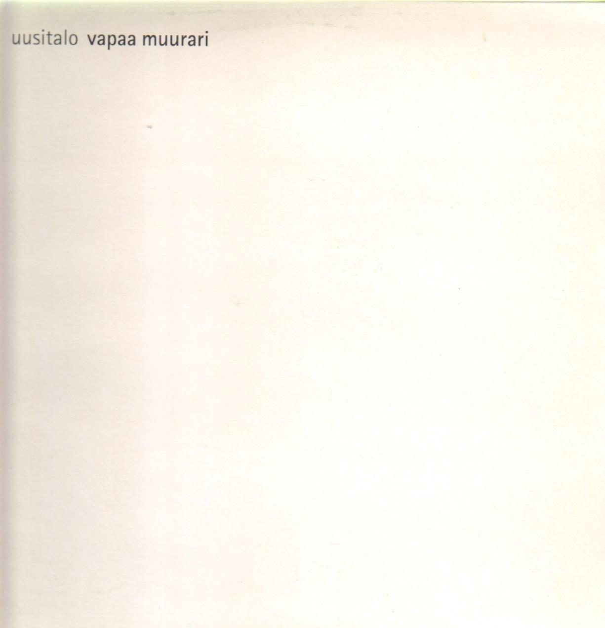 Vapaa Muurari Live [Vinyl] by Efa Imports
