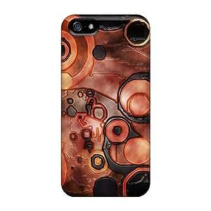 Tough Iphone JQszp6320bwSmc Case Cover/ Case For Iphone 5/5s(lava)