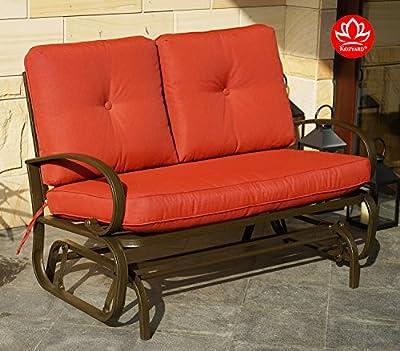 Kozyard Outdoor Smooth Rocking Glider Chair