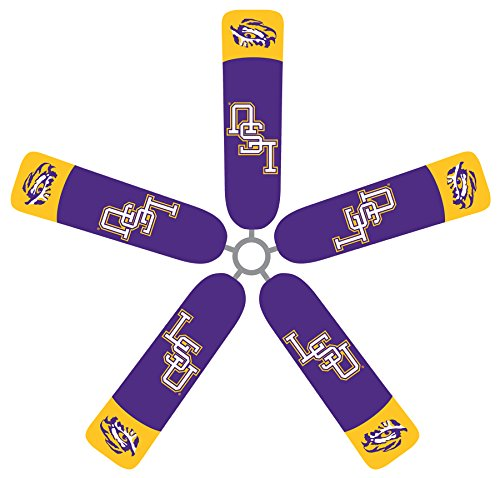 Fan Blade Designs Louisiana State Ceiling Fan Blade Covers by Fan Blade Designs