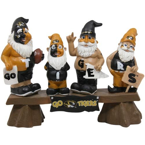 - Forever Collectibles NCAA Missouri Tigers Garden Gnome, Team Colors, One Size