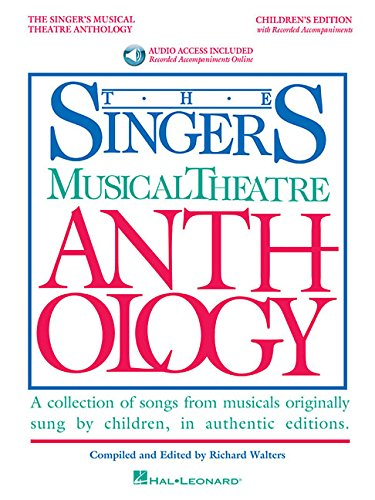Singer's Musical Theatre Anthology - Children's Edition: Book with Online Audio