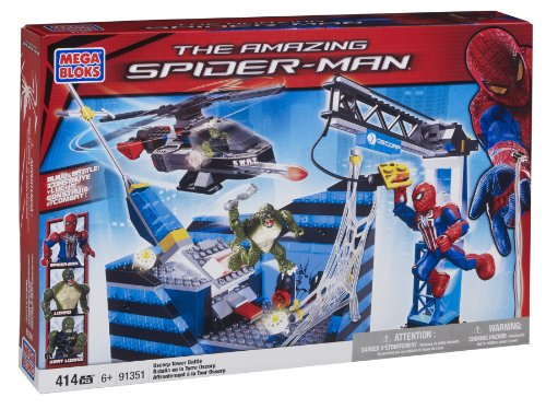 Mega Bloks Spiderman  Oscorp Tower