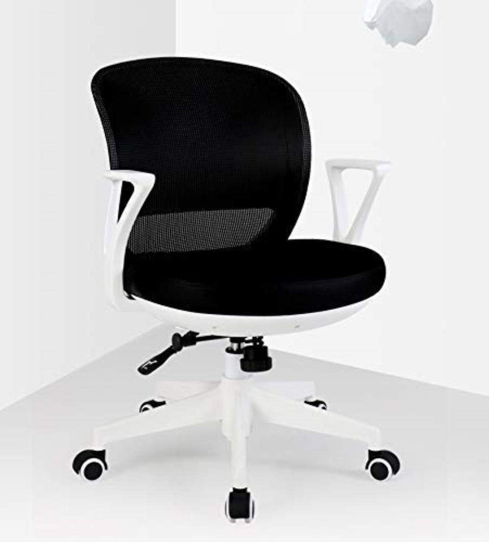 RXL bekväm kontorsstol hem dator stol arbetsstol kontorsstol fritidsstol student pall stol rygg robust (färg: Svart 1) gRÖN
