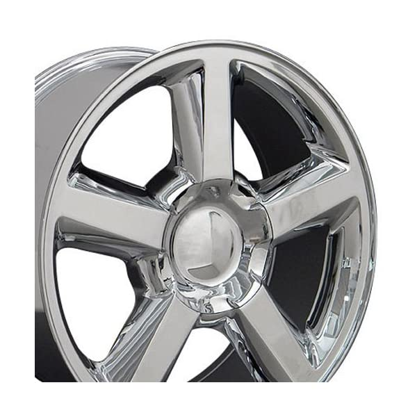 OE-Wheels-20-Inch-Fits-Chevy-Silverado-Tahoe-GMC-Sierra-Yukon-Cadillac-Escalade-CV83-Chrome-20×85-Rim-Hollander-5308