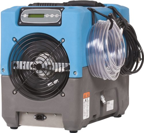Dri-Eaz Revolution LGR Commercial Dehumidifier with Pump, Industrial, Compact, Crawlspace and Basement Drying, Durable, Portable, Blue, F413, Up to 17 Gallon Water Removal per Day