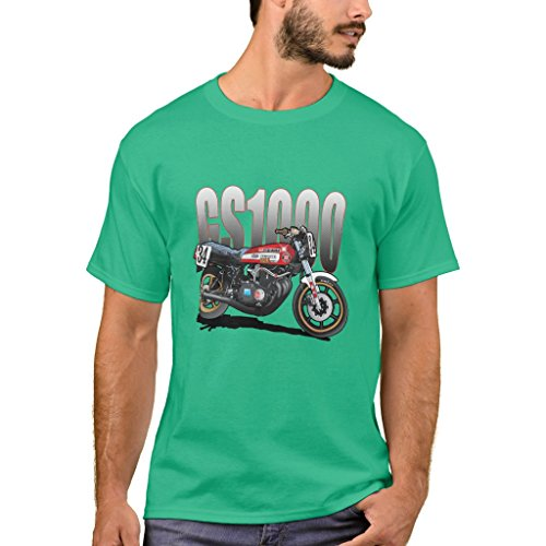 Zazzle Men's Basic T-Shirt, Wes Cooley Gs1000 T-Shirt, Kelly Green XXXL