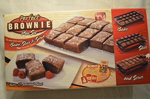 Perfect Brownie Pan Set (Perfect Brownie Pan)