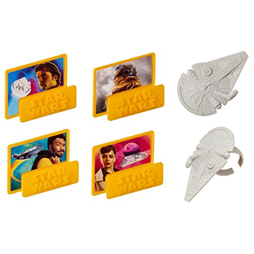 Solo a Star WarsTM Story: Han Solo Cupcake Rings - 24 pc]()