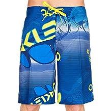 "Oakley Men Polarized 21"" Boardshorts, Dark Blue"