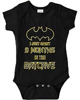 Baby Boy Batman Bodysuit I Just Spent 9 Months In The Batcave