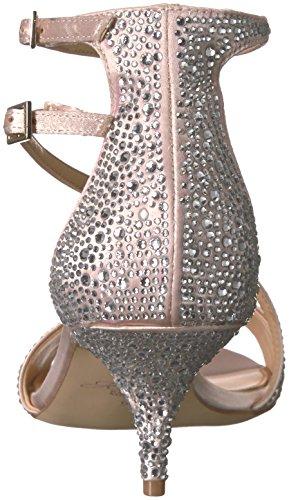 Badgley Mischka Juvel Kvinna Tangerin Klack Sandal Champagne
