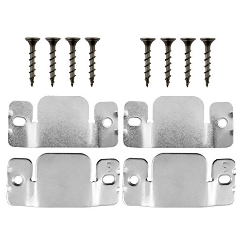 Connector Bracket (Universal Sectional Sofa Interlocking Sofa Connector Bracket with Hardware, 2 Complete Brackets)