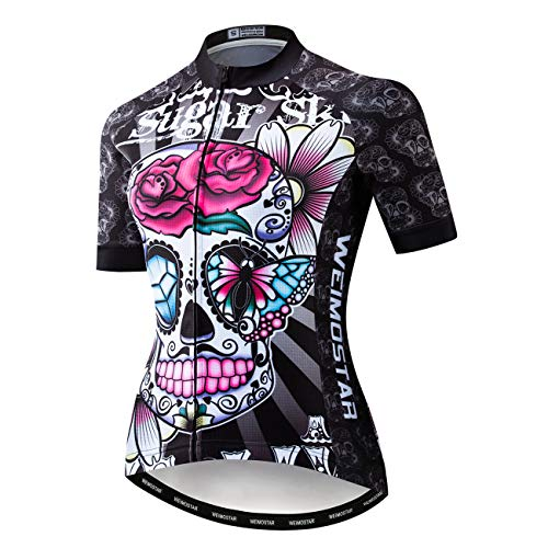 Summer Short Sleeve Cycling Jersey Women Mountain Bicycle Clothing Racing Bike Clothes Quick Dry