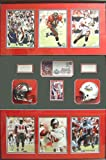 "2003 Super Bowl Champions Tampa Bay Buccaneers Six Autographed 8"" x 10"" Photographs with Coach Signatures in a 30"" x 34"" Deluxe Frame Shadowbox."