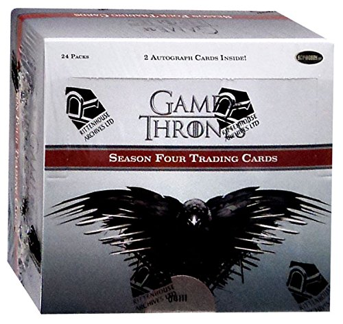 Game of Thrones Season 4 Factory Sealed Box of 24 Trading Card Packs ()