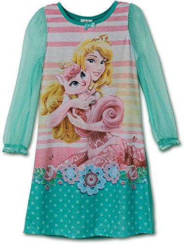 Disney Little Girls Aurora Palace Pets Gown Long Sleeve K157451PN 2T