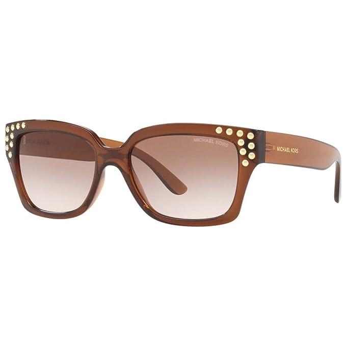 Michael Kors 0MK2066, Gafas de Sol para Mujer, Dark Brown ...
