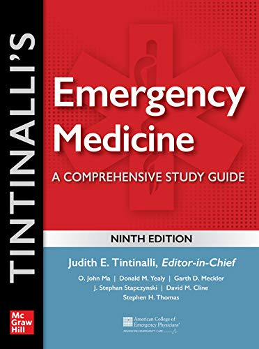 Tintinalli's Emergency Medicine: A Comprehensive Study Guide, 9th edition - http://medicalbooks.filipinodoctors.org