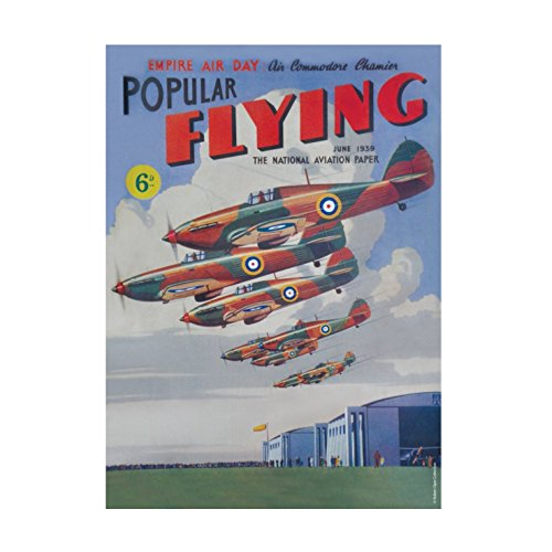 Popular Flying Wartime Britain and Heritage A5 Steel Sign Tin Wall Door Plaque