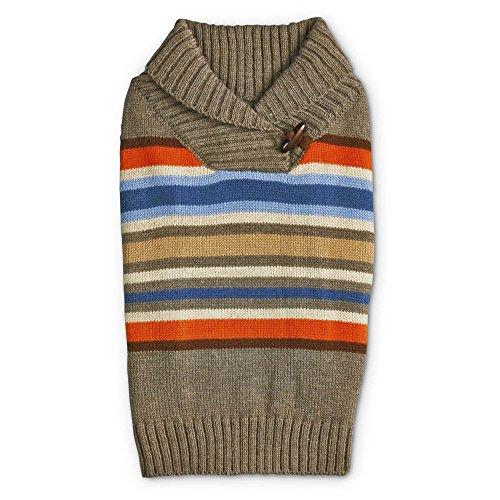 hawl Collar Dog Sweater, X-Small, Tan (Co Shawl Collar)