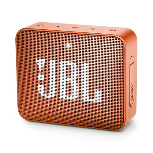 jbl Go 2 Portable Bluetooth Waterproof Speaker (Orange) (Jbl Flip Ii Wireless Portable Stereo Speaker)