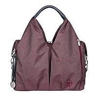 Lassig Womens Ecoya Series Green Label Neckline Diaper Bag - Burgundy red