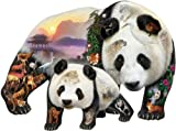 Panda Playground a 1000-Piece Jigsaw Puzzle by Sunsout Inc.