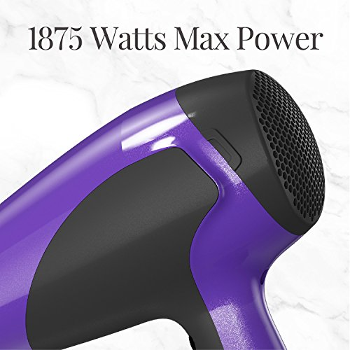 Remington Hair Dryer with Ionic + Ceramic + Tourmaline Technology, Purple, D3190 by Remington (Image #5)