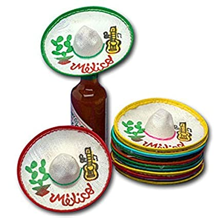Image Unavailable. Image not available for. Color  Mini Mexico Sombreros ... 545bda186a7