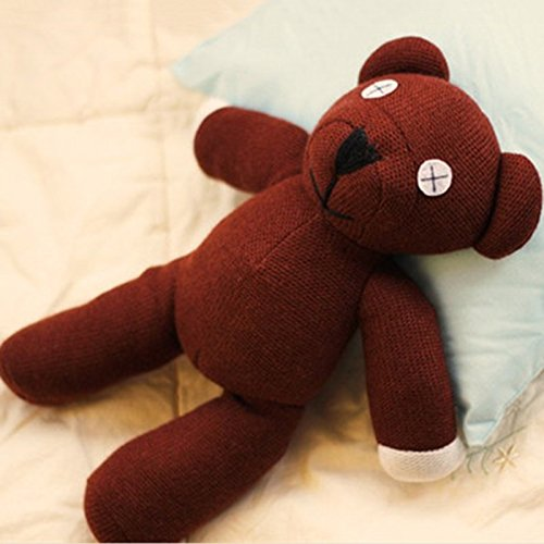 Mr Bear Teddy Bean Plush (ToyKingToys Mr Bean Teddy Bear Soft Stuffed 12