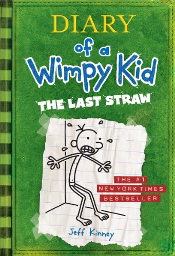 Book cover for Diary of a Wimpy Kid: The Last Straw