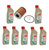 7 Liters High Quality Castrol TWS 10w60 Synthetic Motor Oil & Filter BMW Z3 M3