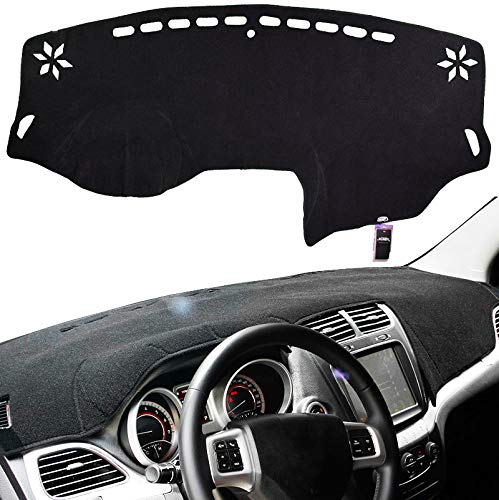 XUKEY Dashboard Cover for Dodge Journey 2011-2018 Dash Cover Mat