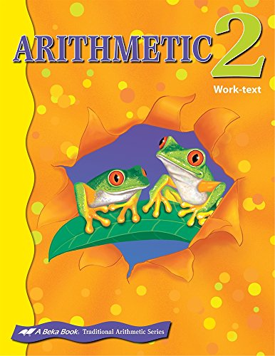 Abeka Arithmetic 2 for sale  Delivered anywhere in USA