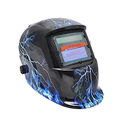 Zorvo Pro Solar Auto Darkening Welding Helmet Arc - Welding Helmets Lightning