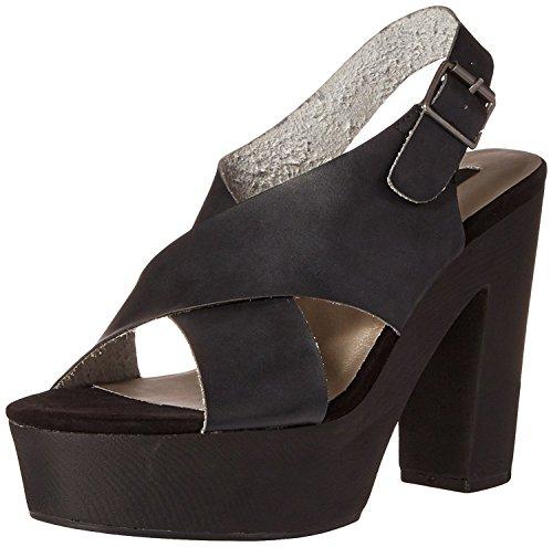 - Michael Antonio Women's Tracker Platform Sandal, Black, 9 M US