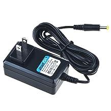 PwrON 6.6 FT Long 12V AC Adapter For Sony TMR-RF985R MDR-RF985R TMRRF985R MDRRF985R Wireless Headphone RF Stereo Transmitter Power Supply Cord