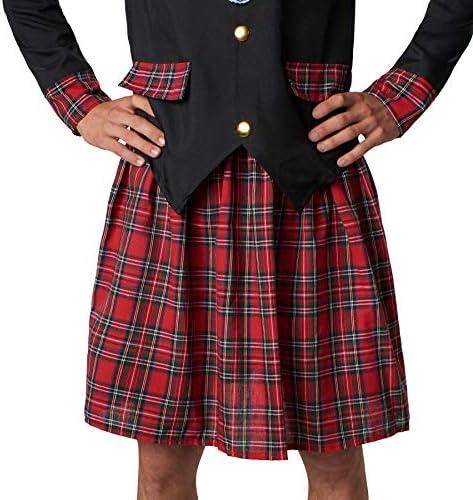 Dressforfun 900424 Disfraz De Hombre Noble Escocés Chaqueta Y Falda Escocesa Con Calcetines Y Sombrero M No 302081 Creeo Com Br
